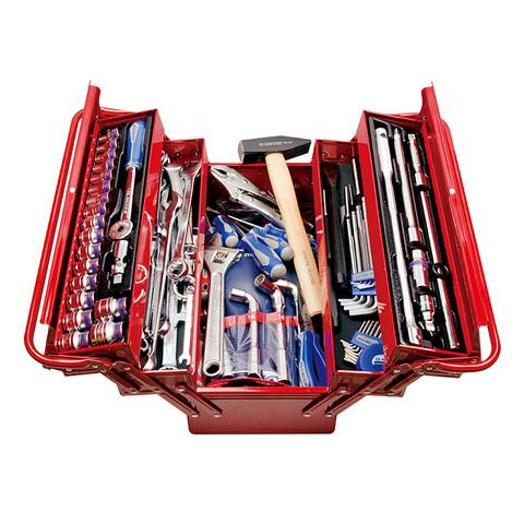 Набор инструментов универсальный, раскладной ящик, 103 предмета KING TONY 902-103MR
