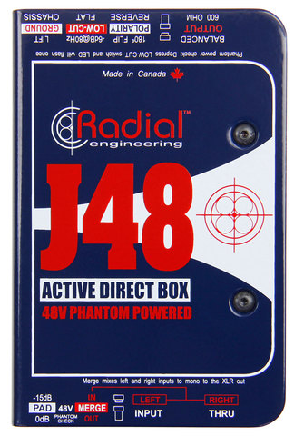 Radial J48 активный директ-бокс