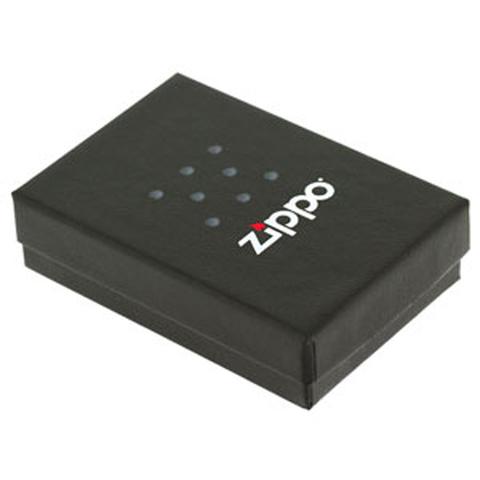 Зажигалка Zippo На Берлин с покрытием Black Matte, латунь/сталь, чёрная, матовая123