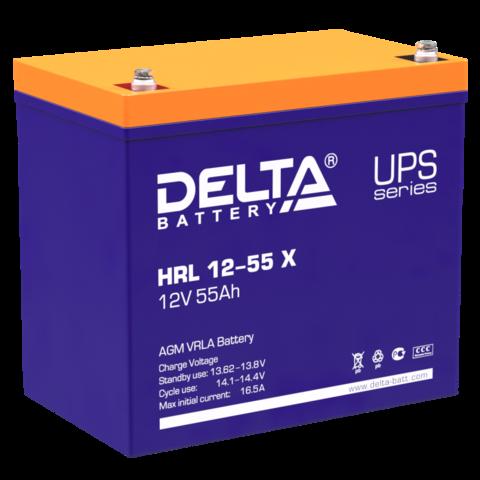 Аккумулятор DELTA HRL 12-55 X
