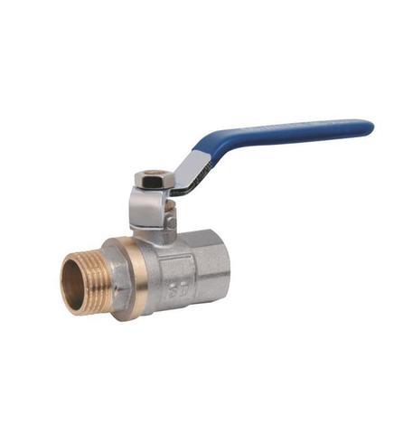Кран шаровой для воды SD Plus 1 1/2 ВН ручка рычаг
