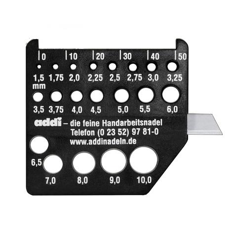 Измеритель диаметра спиц Addi