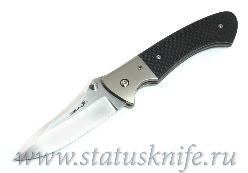 Нож Pan Stellite Custom Brian Tighe