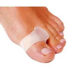 Силиконовый межпальцевая перегородка с кольцом на первый палец стопы