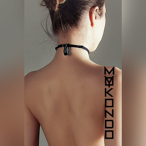 MyMokondo Чокер Simple (Черный, one size)