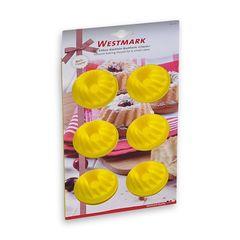 Форма для 6-ти маффинов, силикон, цвет-желтый, серия Silicone, 3016227Y, Westmark, Германия