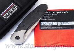 Нож CKF MKAD Empat (M390, титан, карбон, подшипники)