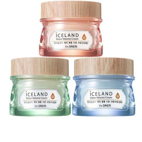 The Saem Iceland  Water Volume Cream Увлажняющий крем с ледниковой водой