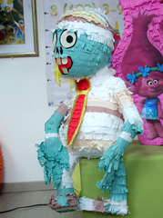 Пиньята Halloween Мумия