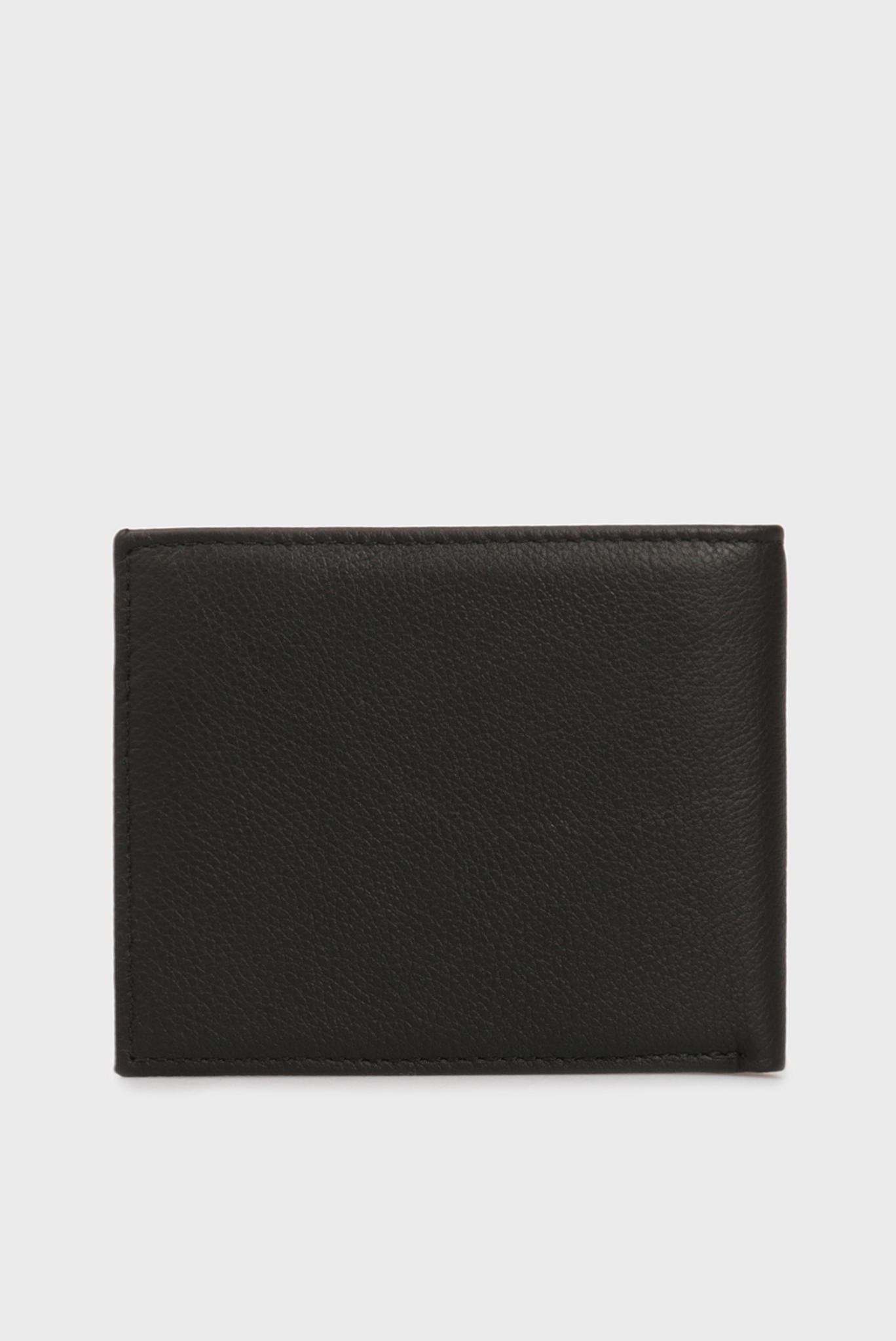 Мужской черный кожаный кошелек TH SOLID MINI Tommy Hilfiger