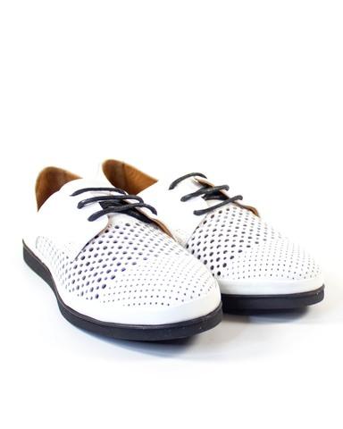 белые туфли Mario Muzi