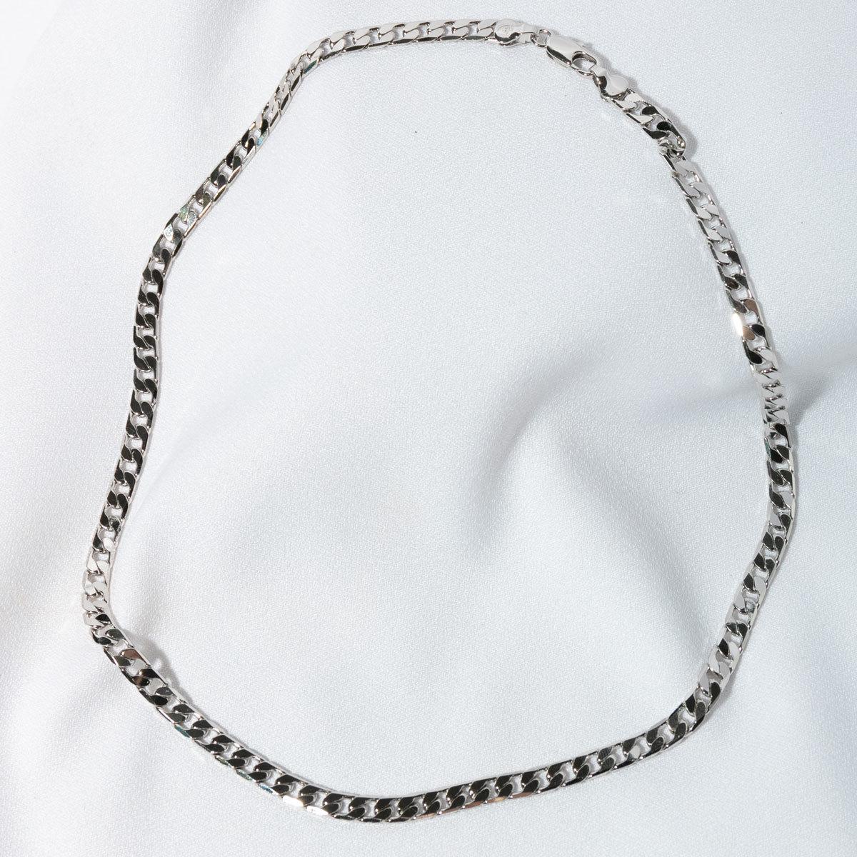 Цепь панцирного плетения 6мм 50см (золотистый)