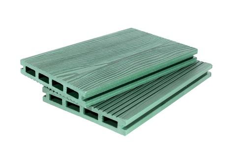 Террасная доска 140мм 3D Зелёный