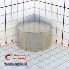 Неодимовый магнит диск 45*25 мм