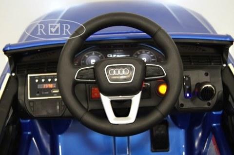 Электромобиль Rivertoys Audi Q7 QUATRO синий глянец