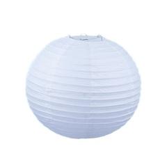 Подвесной фонарик стандарт 30 см белый