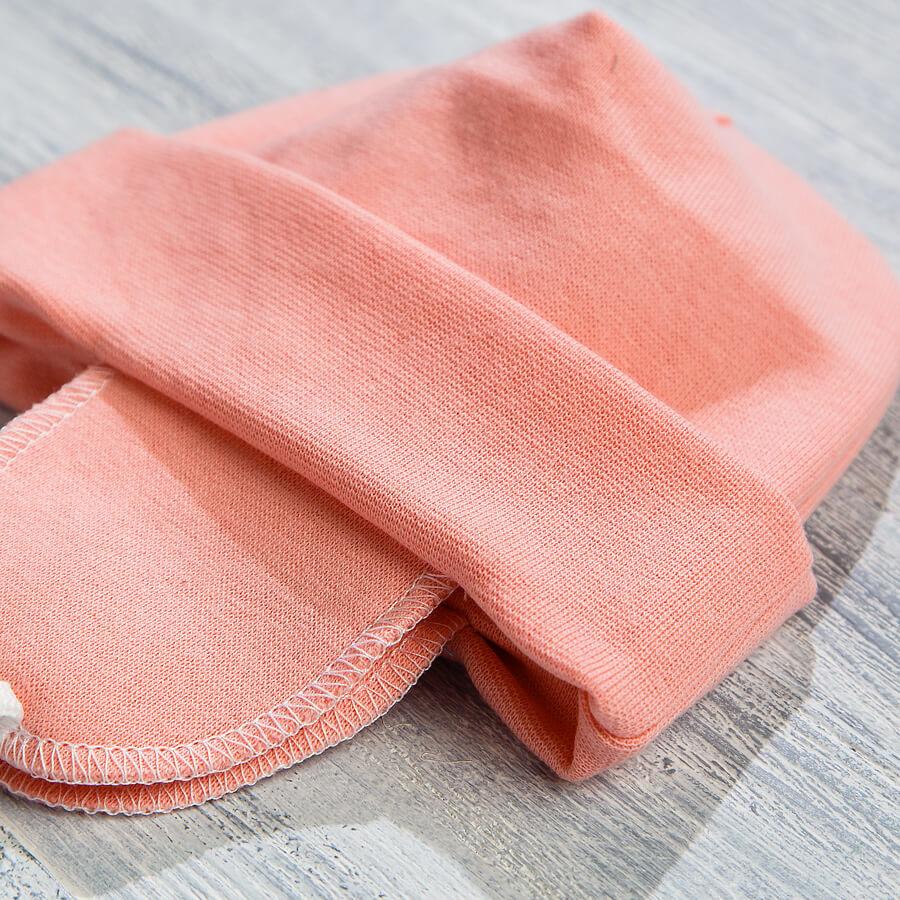 Шапочка с ушками для новорожденных