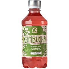Lava SF KOMBUCHA Зеленый чай Гибискус 330мл