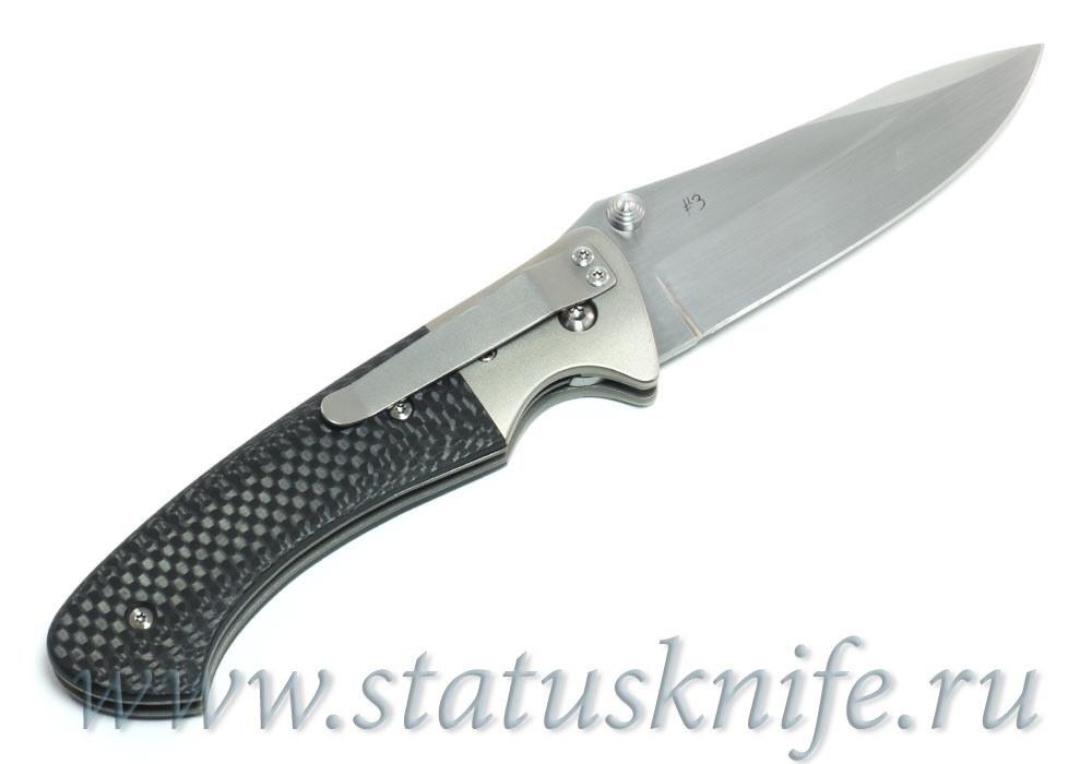 Нож Pan Stellite Custom Brian Tighe - фотография