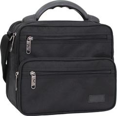 Мужская сумка Bagland Mr.Braun 8 л. Чёрный (0024066)