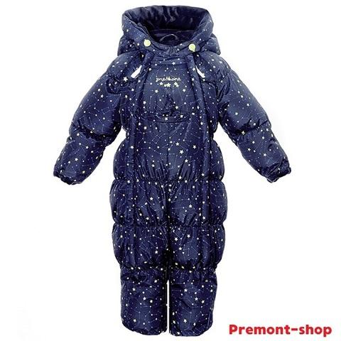 Зимний комбинезон-трансформер Premont Звездочет WP92062 Blue