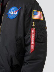 Бомбер Alpha Industries Apollo MA-1 Black (Черный)