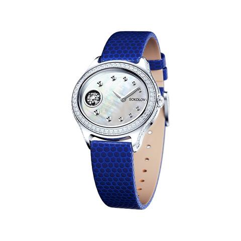 145.30.00.001.01.02.2 -Женские серебряные часы от SOKOLOV
