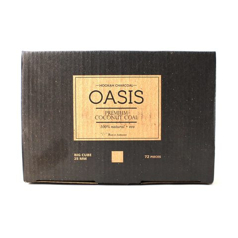 Уголь Oasis 25 кубик (72 штуки)