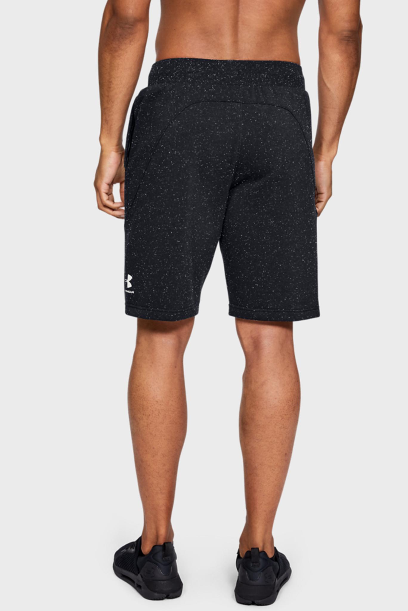 Мужские черные спортивные шорты SPECKLED FLEECE SHORT Under Armour