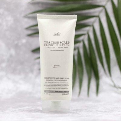 Маска для очищения кожи головы Lador Tea Tree Scalp Clinic Hair Pack