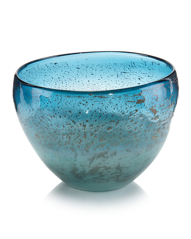Islamorada Blue Glass Bowl