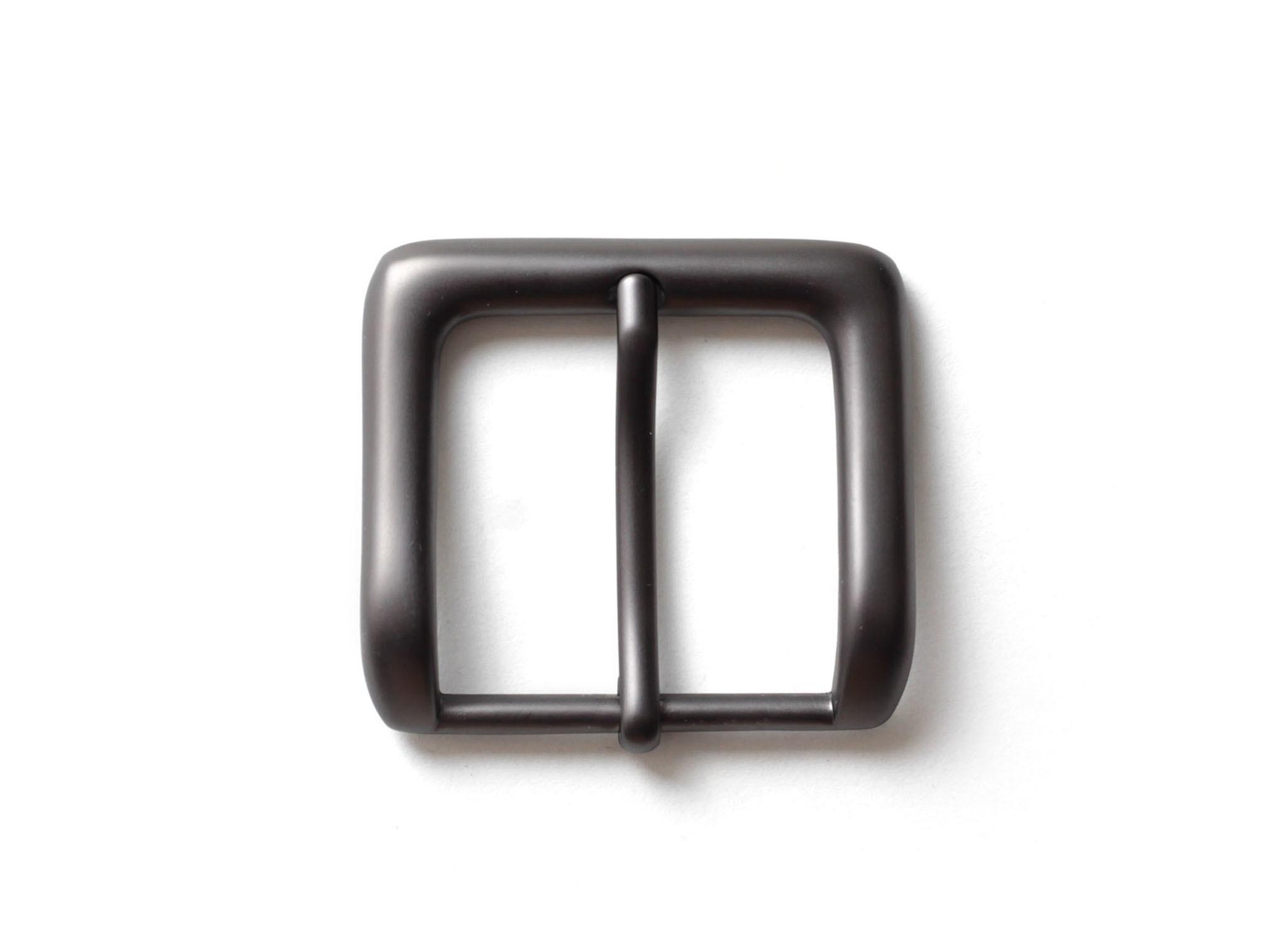 Пряжка для ремней 39 мм - черный матовый.