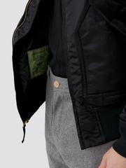 Куртка Alpha Industries CWU 45/P Slim Fit Black (Черная)
