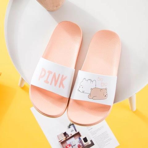 Тапочки Pink мишки