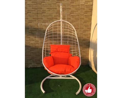 Подвесное кресло Изи Лофт белое