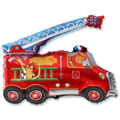 F Мини-фигура Пожарная машина, 14''/34 см, 5 шт.