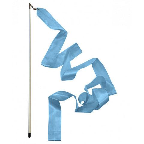 11753 Палочка для худ/гим с лентой 4м синяя