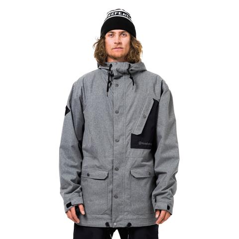 Куртка Horsefeathers KADAM JACKET (gray melange)