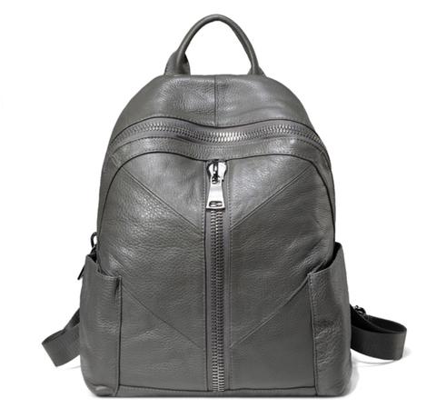 Женский кожаный рюкзак Vellington Ellis Gray