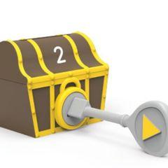 Обучающая игра Замки и ключи. Пиратское сокровище (30 элементов) Learning Resources, арт. LER6808