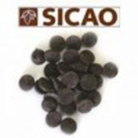 Шоколад SIKAO, темный 53%  5 кг.