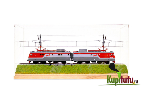Диарама Туту BOX с локомотивом ВЛ10 либо ЧС7