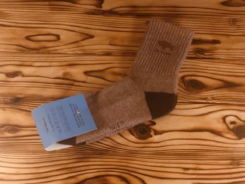 Носки из шерсти яка/ р. 38-40 (Светло-серые) фото1