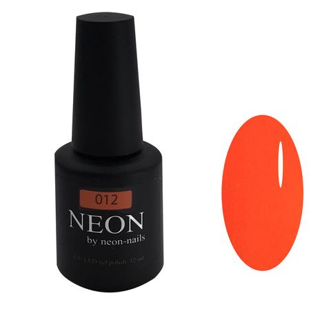 Оранжевый неоновый гель-лак