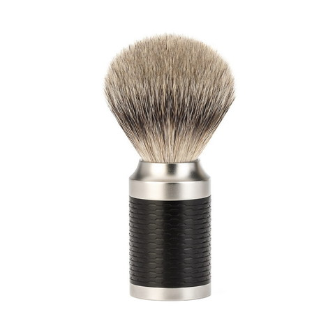 Помазок для бритья Muhle Rocca барсучий ворс высшей категории Silvertip 091M96