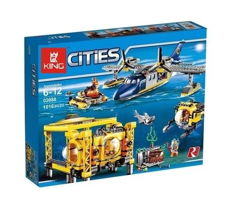 Конструктор Queen Cities 02088 Глубоководная исследовательская база
