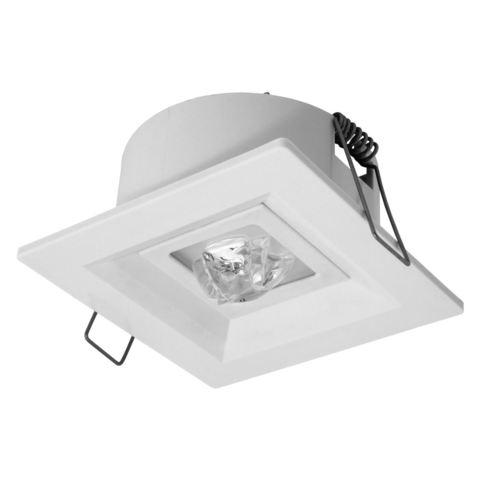 Светодиодные аварийные встраиваемые светильники для коридоров Lovato P/C Awex