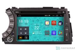 Штатная магнитола 4G/LTE с DVD для Ssang Yong Kyron 05-15 на Android 7.1.1 Parafar PF160D