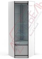 ВУ-164-Д Витрина стеклянная угловая серия