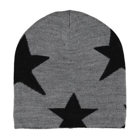MOLO Colder шапка из шерсти с флисовой подкладкой со звездами